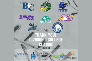 Thank You to All the Teams from the Division II College Classic!