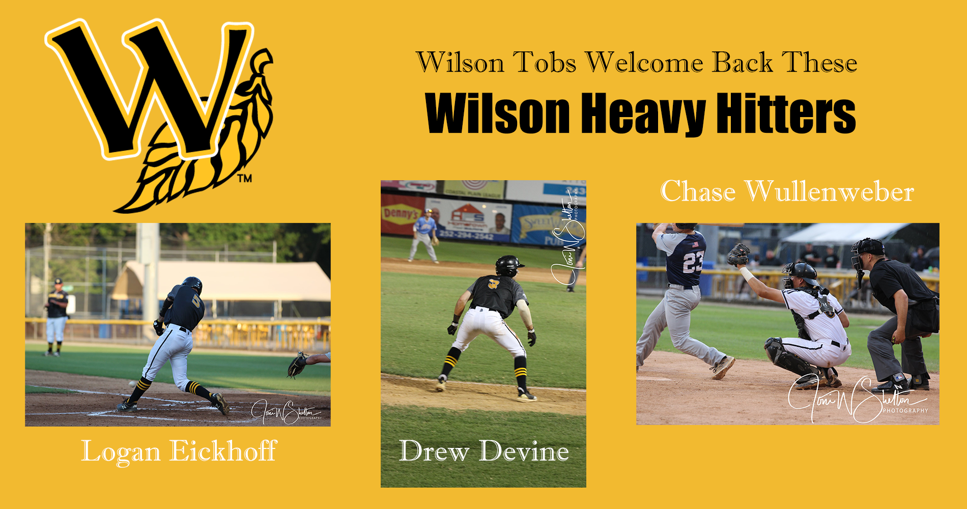 Heavy Hitters Returning to Wilson