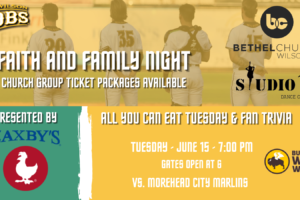 Join the Tobs for Faith and Family Night on Tuesday