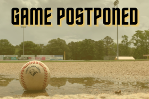 Thursday's Salamanders-Tobs Game Rained Out