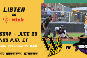 Broadcast Coverage as Tobs Hit the Road in Tarboro Tonight (Tuesday, June 29)