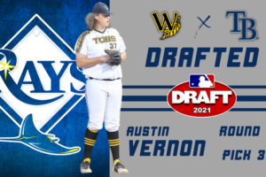 Former Tob Austin Vernon Drafted by Tampa Bay Rays
