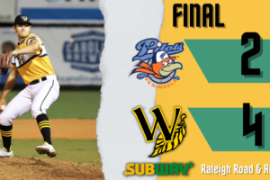 Pilot Errors Cost Peninsula Close Game in Wilson, Tobs Roll 4-2