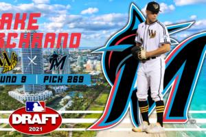 Miami Marlins Draft Former Wilson Tob Jake Schrand