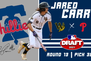 Jared Carr Taken by Philadelphia Phillies in 13th Round