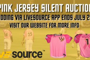 Paint the Park Pink Night Jersey Auction