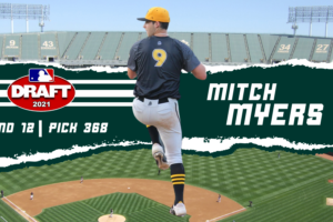 Oakland Athletics Take Former Tob Mitch Myers in 12th Round