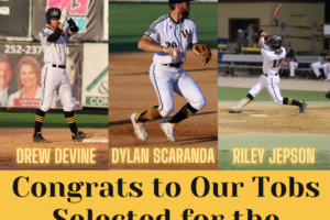 Three Tobs Named to First All-CPL Team
