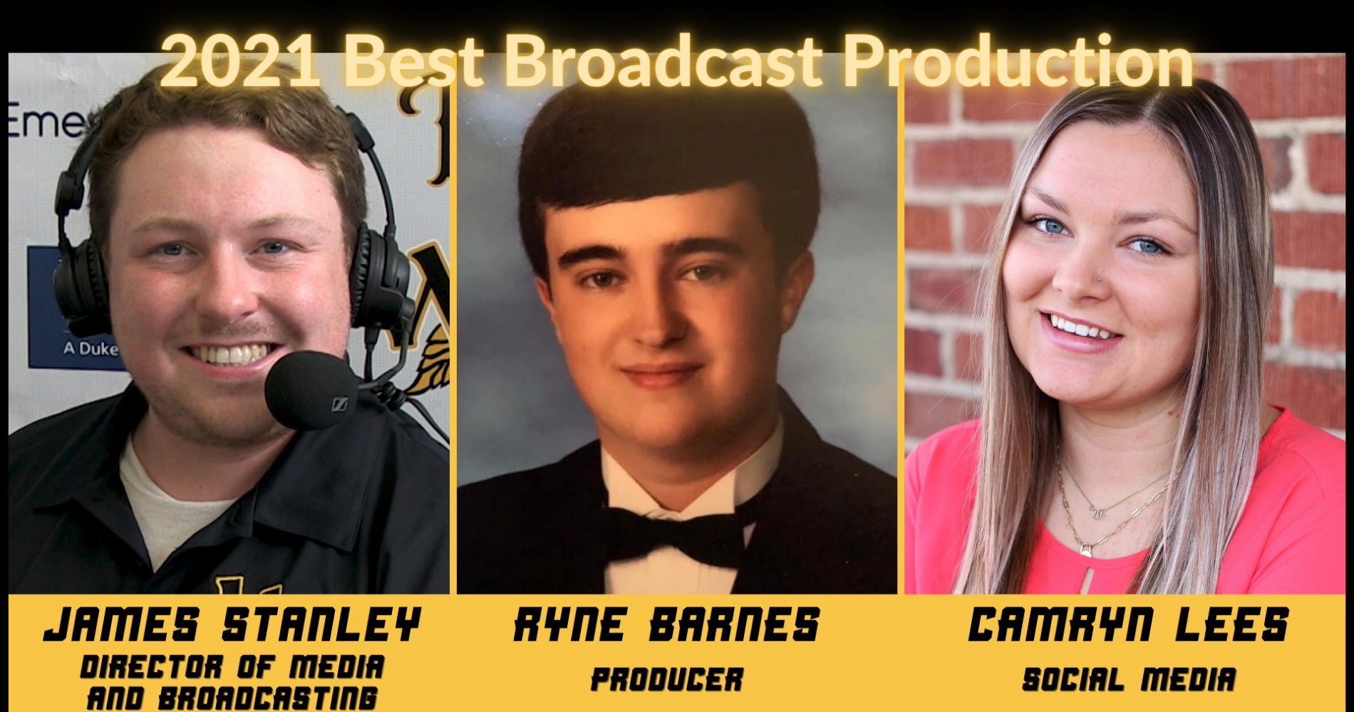 Tobs Named Best Broadcast in the League