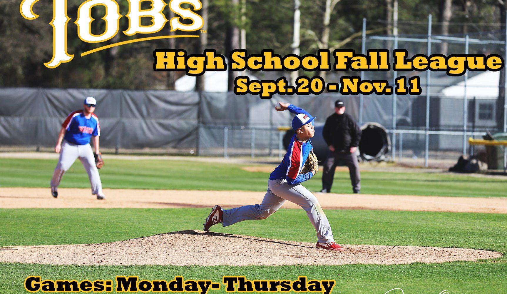 Tobs High School Fall League